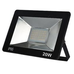 Προβολέας LED 20W SMD Αλουμινίου Slim Στεγανός 1400Lm IP65 4000K