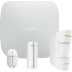 Ajax Hub Starter Kit Plus ασύρματου συναγερμού Λευκό