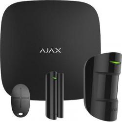 Ajax Hub Starter Kit Plus ασύρματου συναγερμού Μαύρο