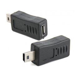 Αντάπτορας Micro USB θυλικό σε Mini USB αρσενικό