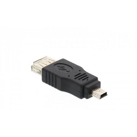 Αντάπτορας USB θυλικό σε Mini USB αρσενικό