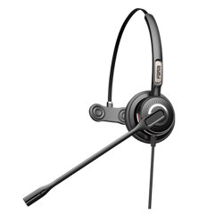 FANVIL HT201 Call Center Headset Mono with QD to RJ9 Connecting Cord