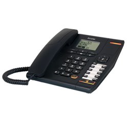 Alcatel TEMPORIS 880 Analog Corded Phone - Black