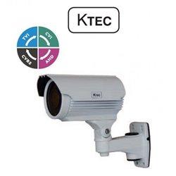 KTEC E500VW bullet camera 5MP (TVI/AHD/CVI/CVBS)