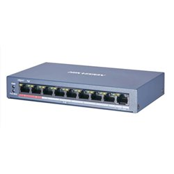 HIKVISION DS-3E0109P-E/M 8 Ports Fast Ethernet/ 1 Fast Ethernet Uplink Port POE Switch 58W