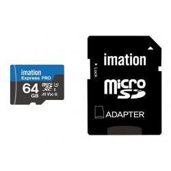 IMATION κάρτα μνήμης MicroSDHC UHS-3 64GB
