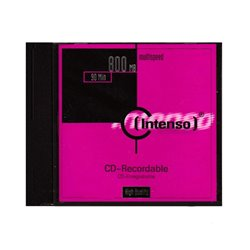INTENSO CD-R 800MB Multispeed (4034303001774)