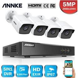 ANNKE DW61LD 16CH 5MP DVR + 4 CAM 5MP ΕΞΩΤΕΡΙΚΕΣ FULL SET