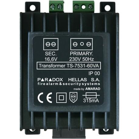 Μετασχηματιστής 16.6V 60W