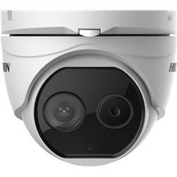 HIKVISION DS-2TD1217-3/V1 4mm Δικτυακή θερμική Dome 2 φακών 1080p