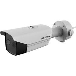 HIKVISION DS-2TD2617-3/V1 θερμικός φακός 3.1mm - οπτικός φακός 4mm Δικτυακή θερμική bullet 2 φακών 1080p