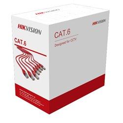 HIKVISION DS-1LN6U-W/CCA CAT6 305m ΚΑΛΩΔΙΟ ΔΙΚΤΥΟΥ