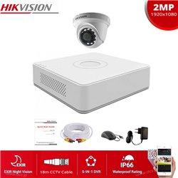 HIKVISION SET 2MP(1080P) DS-7104HQHI-K1 + 1 ΚΑΜΕΡΑ HIKVISION DS-2CE56D0T-IRF 2.8mm