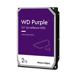 Western Digital Purple HDD 2TB WD20PURZ