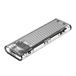 ORICO TCM2-C3 θήκη για Μ.2 SSD NVME USB3.1 10Gbps Silver