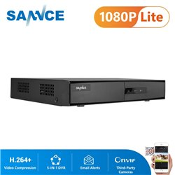 SANNCE DN81BL Καταγραφικό 8 καναλιών & 2 IP
