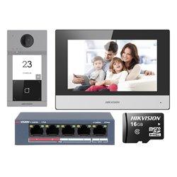 HIKVISION DS-KIS604-S IP Κιτ Θυροτηλεόρασης