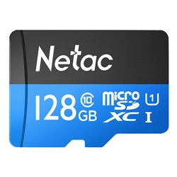 NETAC κάρτα μνήμης MicroSDHC UHS-I 128GB BULK
