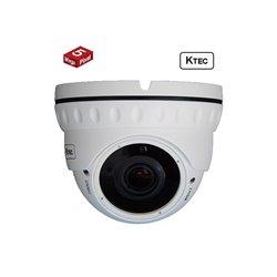 KTEC IP D500 5MP dome camera μεταλλική anti vandal H265