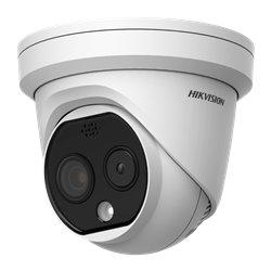 HIKVISION DS-2TD1217-2/PA θερμικός φακός 1.8mm - οπτικός φακός 2.1mm δικτυακή κάμερα