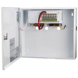 Τροφοδοτικό CCTV 9ch 10A με Backup