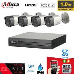 DAHUA CCTV SET 720P 5σε1 DVR 4ch + 4 CAM Εξωτερικές Bullet Indoor/Outdoor