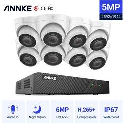 ANNKE SET 5MP N48PBB POE NVR 8 IP + 8 CAM ΕΞΩΤΕΡΙΚΕΣ I51DΜ 5MP 2.8mm