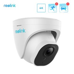 REOLINK RLC-822A 2.8mm~8mm motorized 4K smart dome camera 3x optical zoom POE