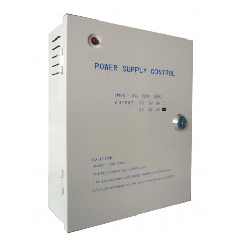 Τροφοδοτικό CCTV 4ch 5A