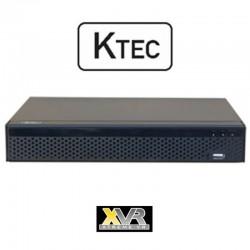 KTEC KT-5008 5MP (TVI/AHD/CVI/Analog/IP) Καταγραφικό 8 καναλιών