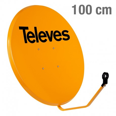 TELEVES ΚΑΤΟΠΤΡΟ 100 STEEL πορτοκαλί multipack