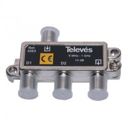 TELEVES TAP-OFF 2 ways 14dB