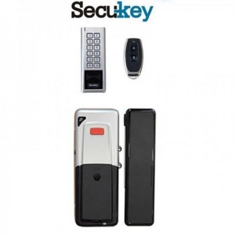 Ασύρματο Set κλειδώματος πόρτας D3 Γύαλινη