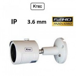 KTEC IP-E200/3.6 1080P full HD ip bullet camera εξωτερικού χώρου
