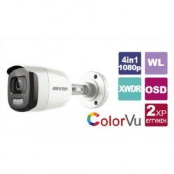HIKVISION DS-2CE10DFT-F 3.6 dome camera 1080p (4 in 1) Color Vu