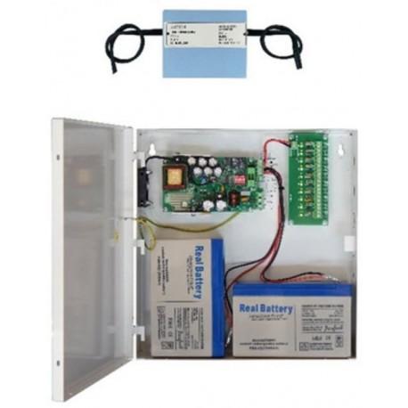 Τροφοδοτικό CCTV 10ch 10A με Backup