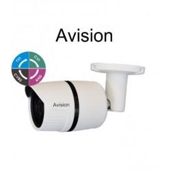 AVISION E1080W 2.8mm dome camera μεταλλική 1080p (TVI/AHD/CVI/CVBS)