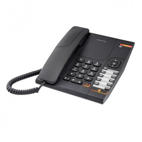 Alcatel TEMPORIS 380 Analog Corded Phone Black