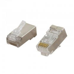 CLIPS RJ45 FTP CAT6 FULL SHIELDED 01-60-474