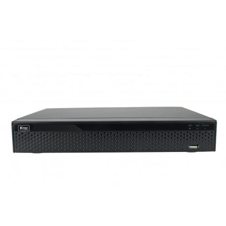 KTEC KT-2004 HD 1080N (TVI/AHD/CVI/Analog/IP) Καταγραφικό 4 καναλιών
