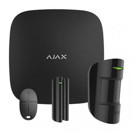 Ajax Hub KIT ασύρματου συναγερμού Μαύρο