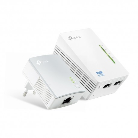 Powerline Tp-Link WPA4220 v4 AV600 Wireless Starter Kit