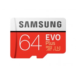 Samsung Evo Plus microSDXC 64GB U3 4K Video Recording
