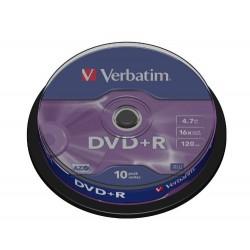 VERBATIM DVD-R Matt Silver 10 τεμ.(43498)