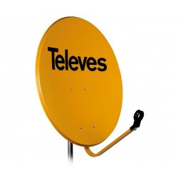 TELEVES ΚΑΤΟΠΤΡΟ 80 STEEL πορτοκαλί multipack