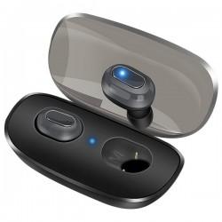 SUPOLOGY X3 TWS Earphone Bluetooth Ακουστικά Ασύρματα In-Ear Μαύρο - PowerBank