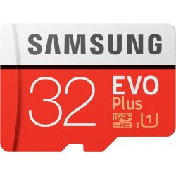 SAMSUNG Evo Plus microSDXC 32GB U3 4K Video Recording