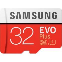 SAMSUNG Evo Plus microSDXC 32GB U1 Video Recording MB-MC32GA/EU
