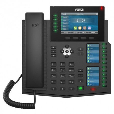 Fanvil X6U Enterprise Gigabit Color IP Phone