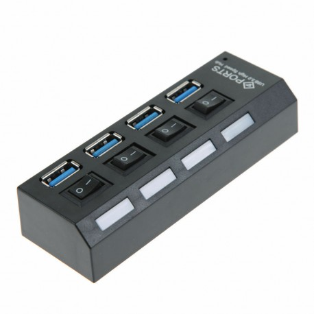 Gocomma C905-4 4-port Usb 3.0 με ON/OFF διακόπτη